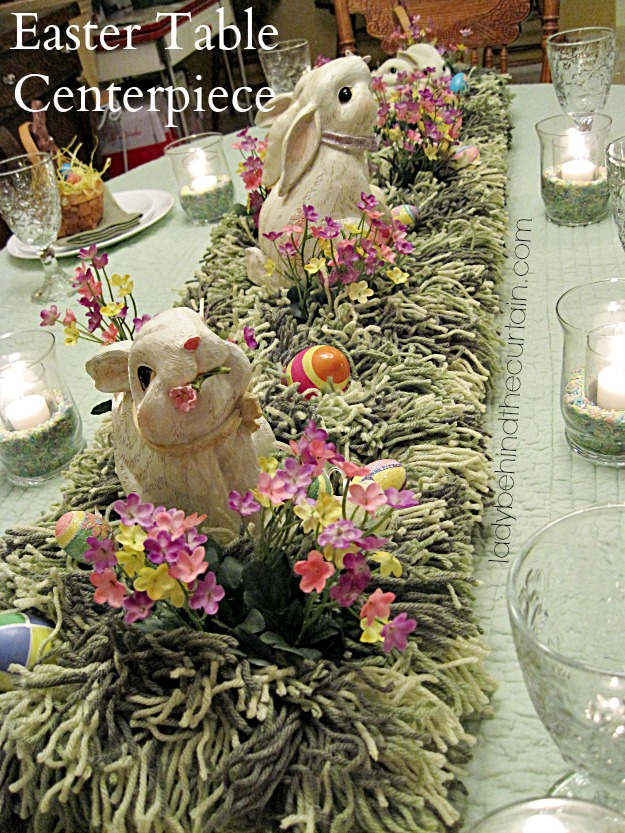 Easter table centerpiece - Table easter decorations ...
